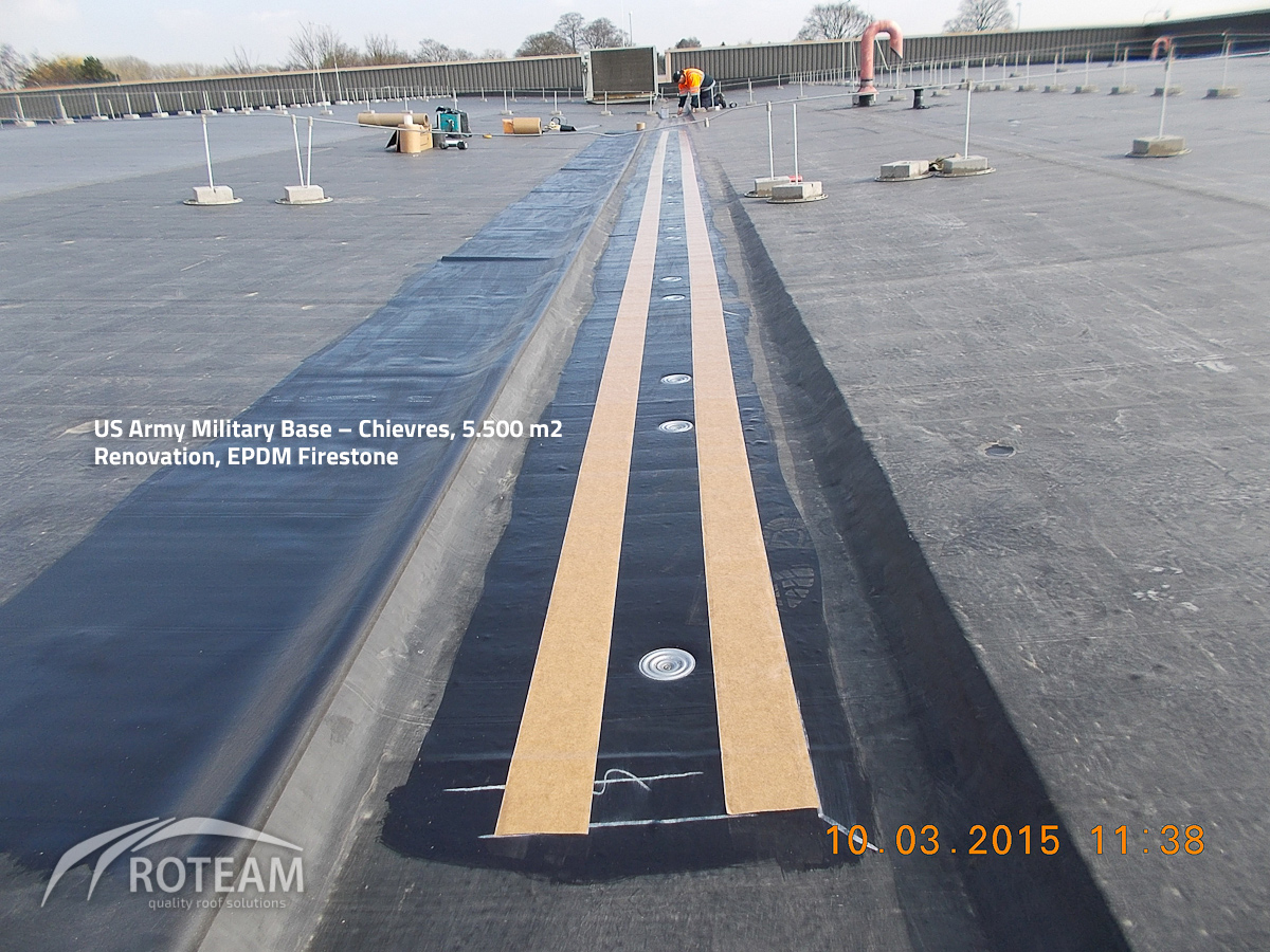 US Army Military Base Chievres – In samenwerking met Tectum