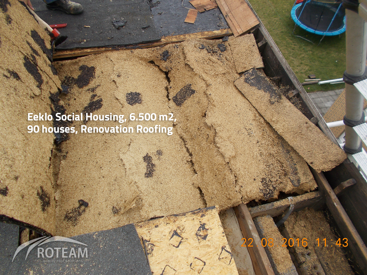 Eeklo Social Housing – roof structure