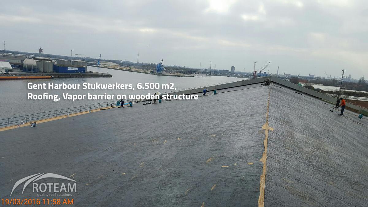 Gent Harbour Stukwerkers – roofing