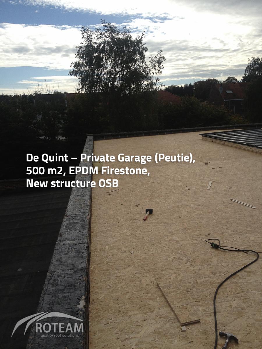 De Quint – roof structure