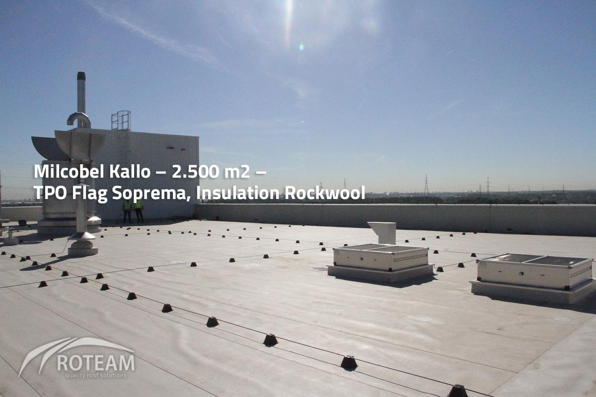 Milcobel Kallo – Insulation