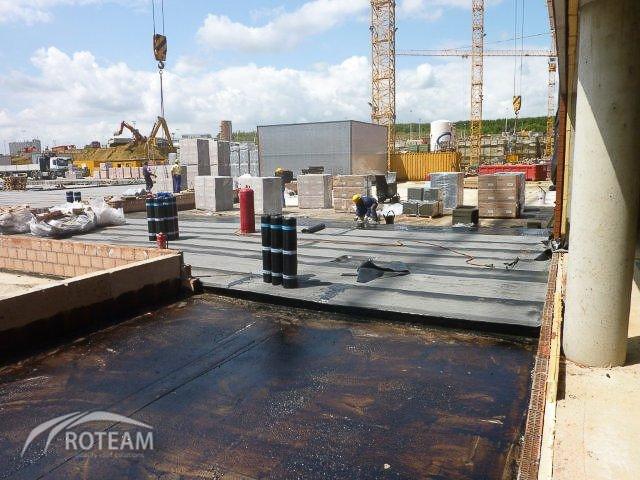 UZ Leuven Hospital – 3.000 m2 – Roofing